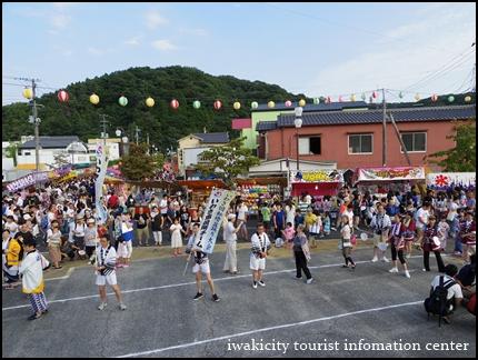 盆踊り大会スタート (1)