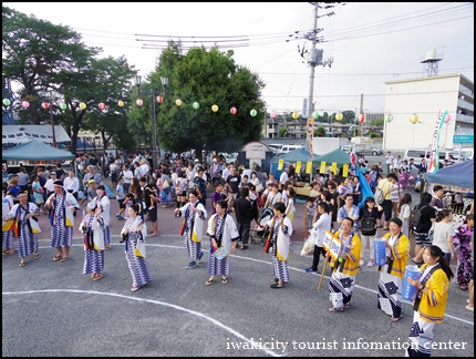 盆踊り大会スタート (4)