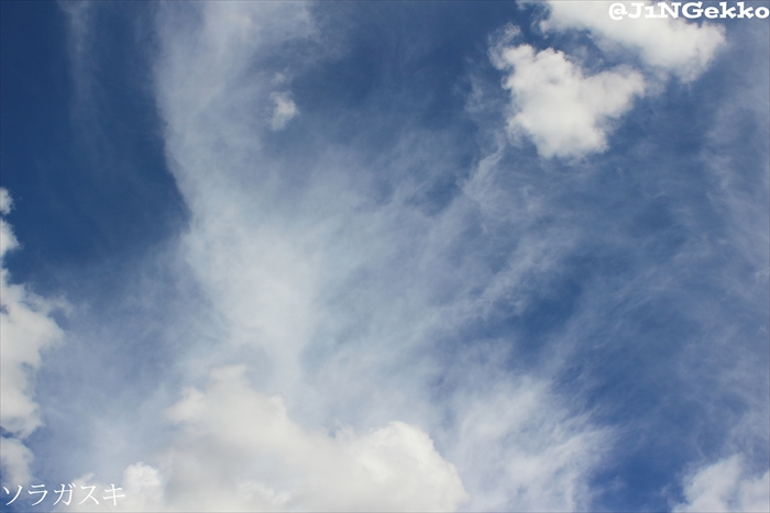 皇紀2676年8月21日 14時45分 今日の空模様