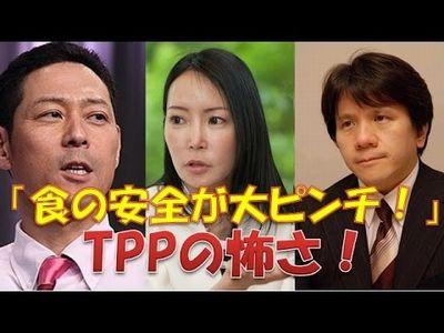 【堤未果×宮崎哲弥×東野幸治】TPP「食の安全が大ピンチ!」非課税障壁で日本の食が危ない!