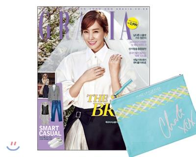 1_韓国女性誌_GRAZIA_2016年5月号