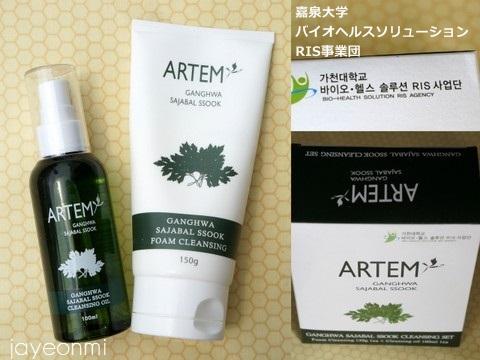 ARTEM_江華 獅子足 ヨモギ クレンジング (6)