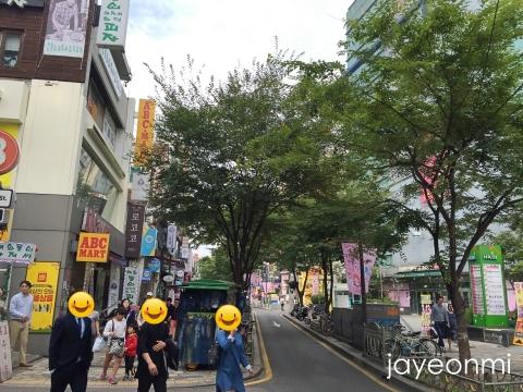 韓国コスメ_セール_2016年10月_チョノ_ロデオ通り