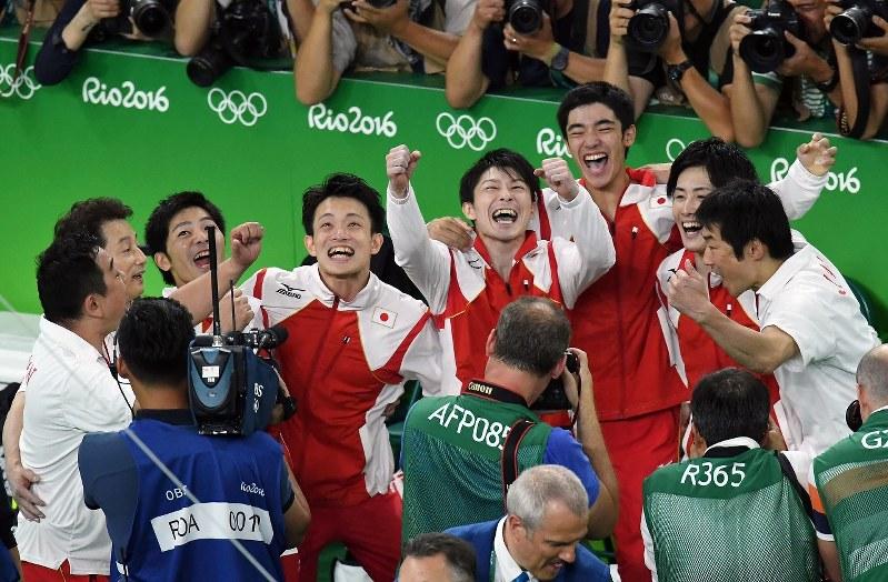 リオオリンピック2016 体操男子金メダル