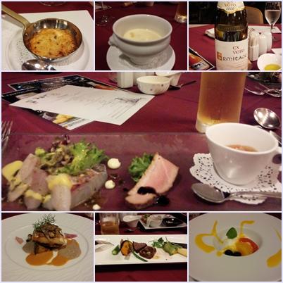ホテルアンビエント・洋食「レザンドール」にて