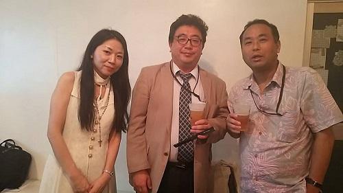 私、宇田川敬介さん、山田高明さん