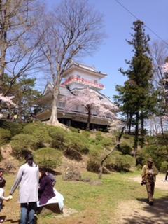 千秋公園花見