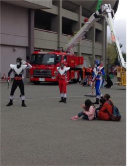 消防と子供の集い1