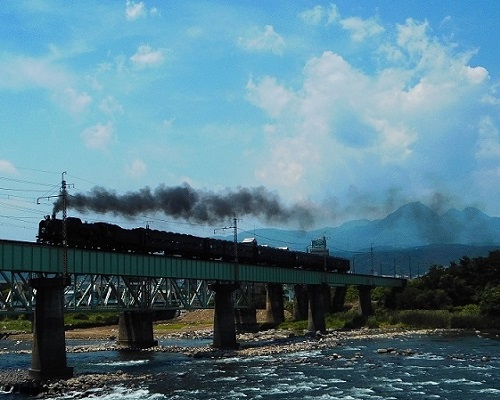 ⑭SL上越線利根川大正橋