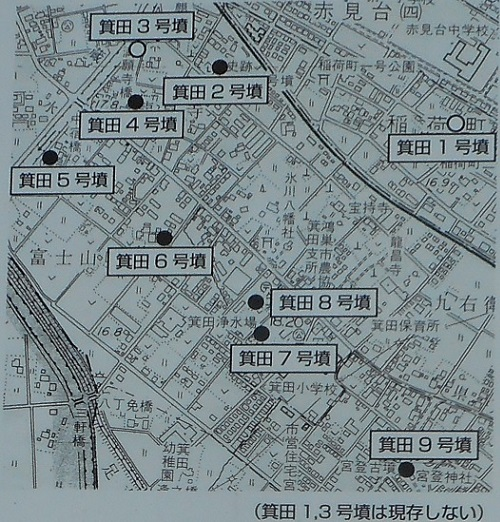 ①箕田古墳群地図20160831