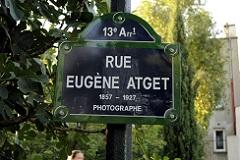 パリの通りの表示板⑥