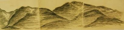比良の山々