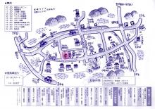 畦宿祭り2016地図
