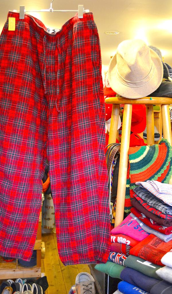 イージーパンツUSEDパジャマパンツ画像@古着屋カチカ7
