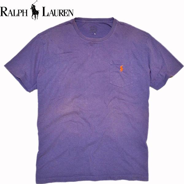 ラルフローレンRL無地Tシャツ画像@古着屋カチカチ01