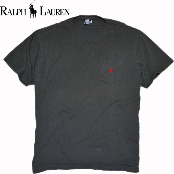 ラルフローレンRL無地Tシャツ画像@古着屋カチカチ04