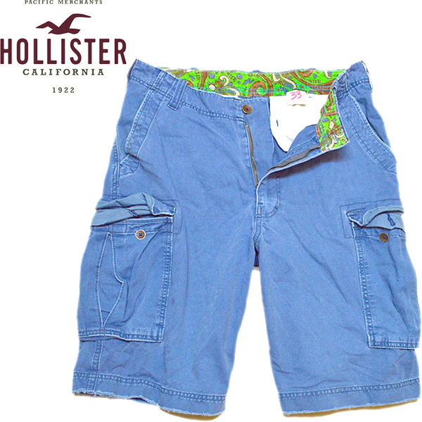 HollisterホリスターShortsショートパンツ@古着屋カチカチ05