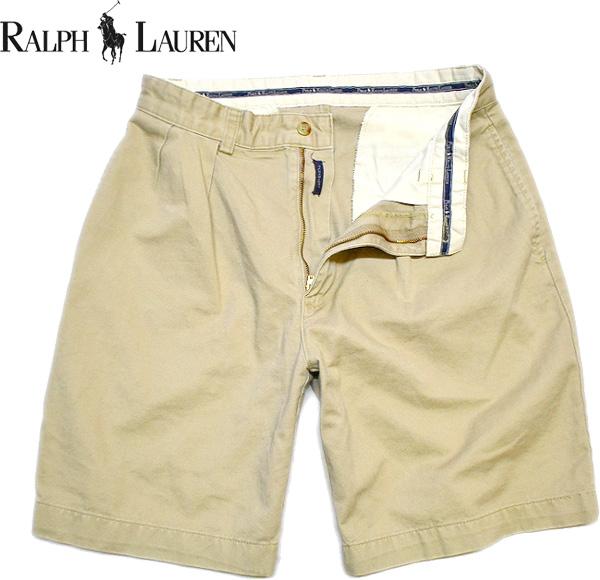 Used Ralph Shorts ラルフローレン画像ショートパンツ@古着屋カチカチ画像01