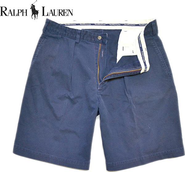 Used Ralph Shorts ラルフローレン画像ショートパンツ@古着屋カチカチ画像02