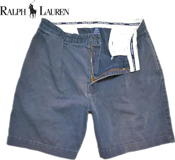 Used Ralph Shorts ラルフローレン画像ショートパンツ@古着屋カチカチ画像05
