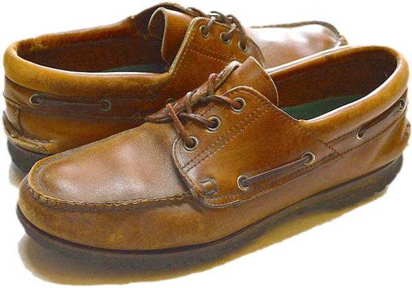デッキシューズ靴スニーカー@古着屋カチカチ
