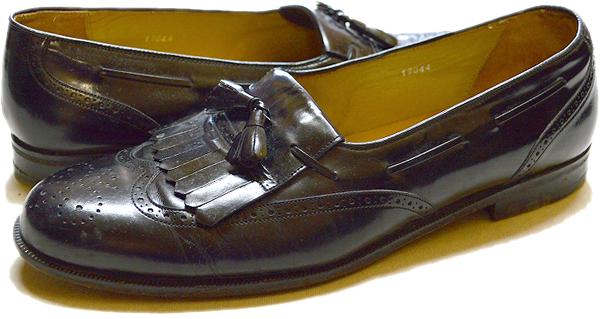 タッセル革靴レザーシューズ@古着屋カチカチ (6)