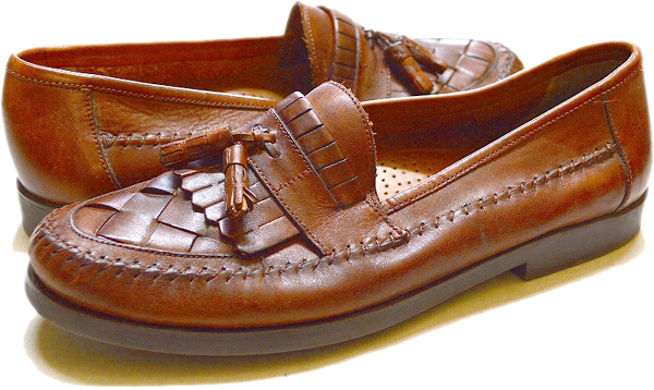 タッセル革靴レザーシューズ@古着屋カチカチ