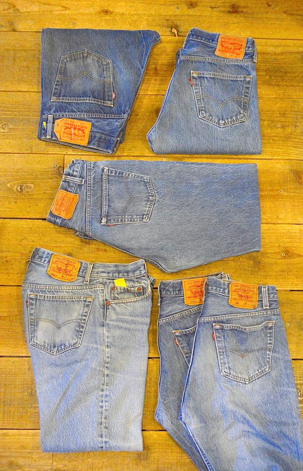 リーバイスLevis501ジーンズ画像@古着屋カチカチ01