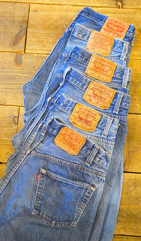 リーバイスLevis501ジーンズ画像@古着屋カチカチ07