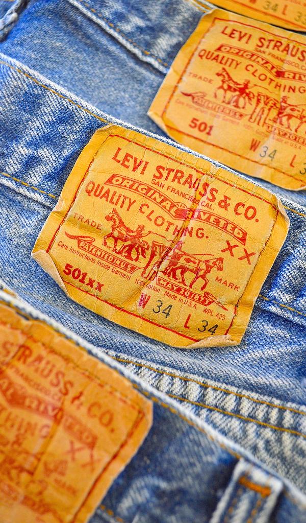 リーバイスLevis501ジーンズ画像@古着屋カチカチ09