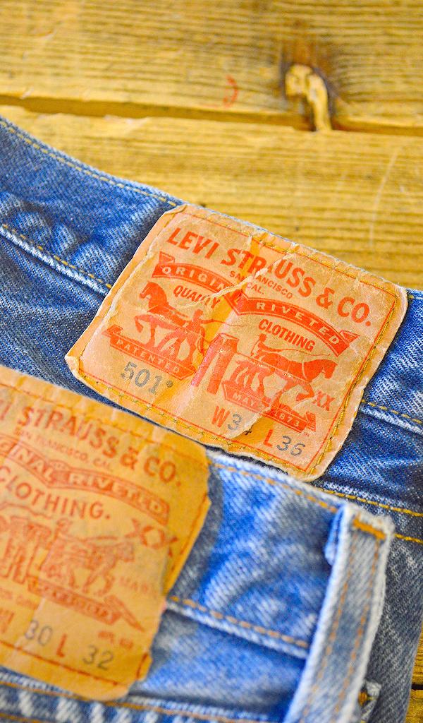 リーバイスLevis501ジーンズ画像@古着屋カチカチ013