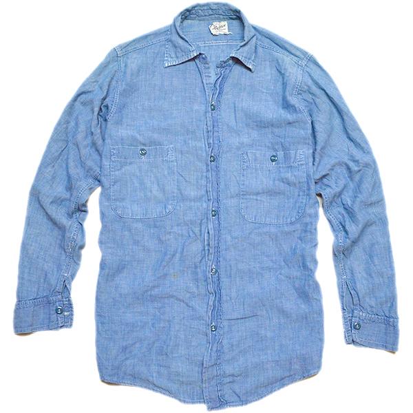 無地物シャツ長袖Tシャツ画像@古着屋カチカチ05