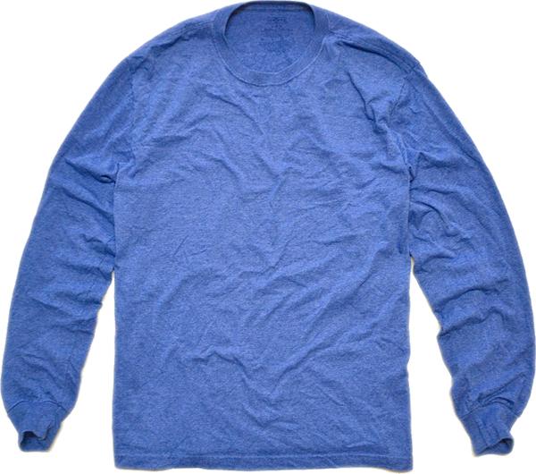 無地物シャツ長袖Tシャツ画像@古着屋カチカチ08