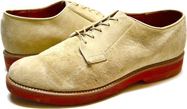 スエードレザーシューズ革靴@古着屋カチカチ (2)