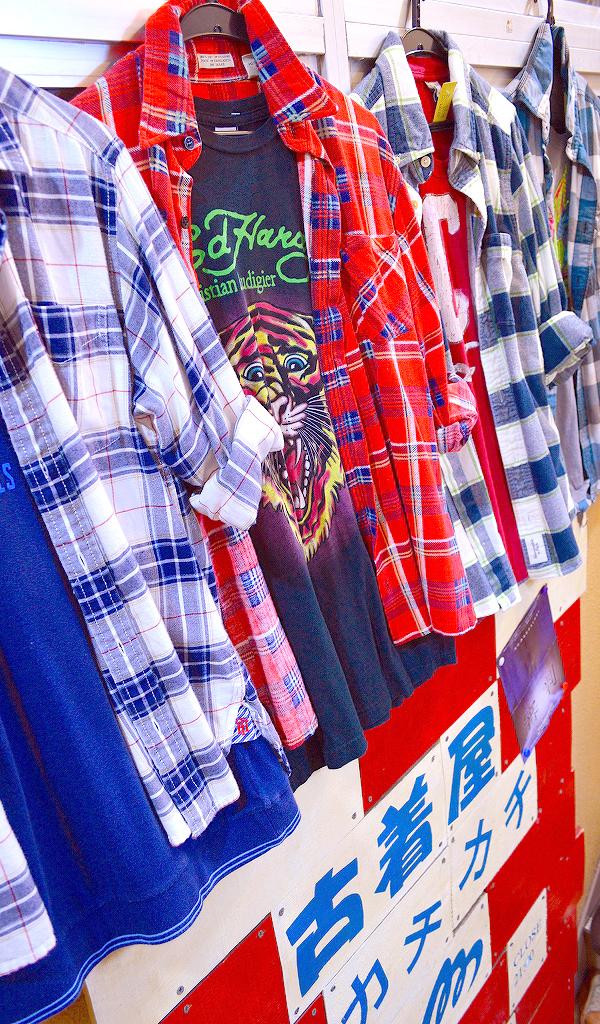 東京都北区の古着屋店内コーデ画像@カチカチ010