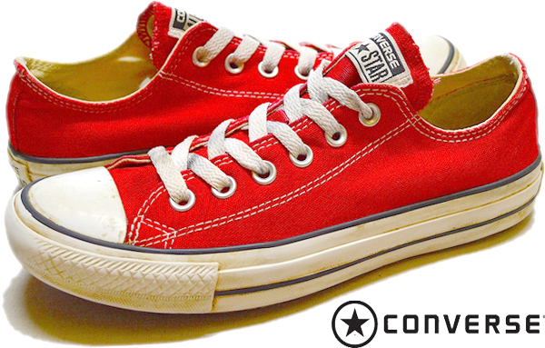 Converse All Starコンバースオールスター画像スニーカー@古着屋カチカチ05