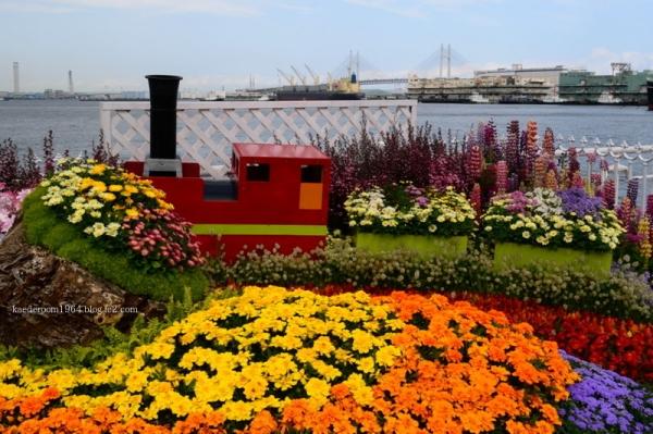 笑顔を運ぶ花物列車 市長賞・市民賞
