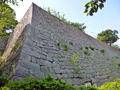 丸亀城_三の丸石垣