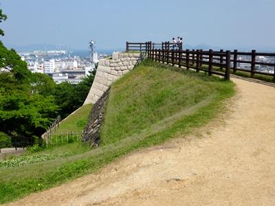 丸亀城_三の丸櫓台
