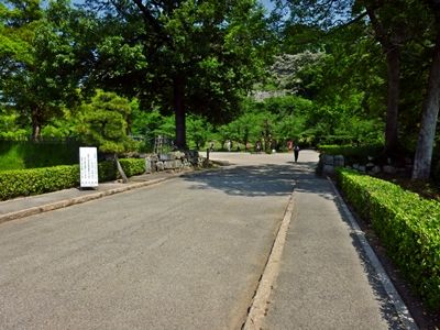 丸亀城_搦手門