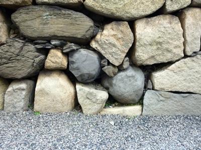 高松城_東の丸丸石