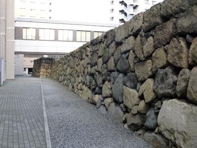 高松城_東の丸石垣