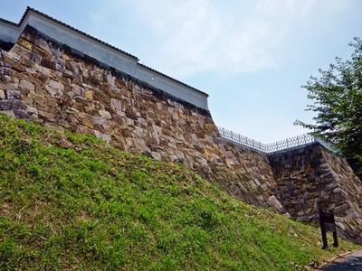 富岡城_二の丸石垣