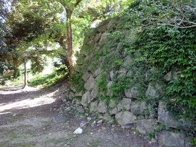 八代城_北の丸石垣
