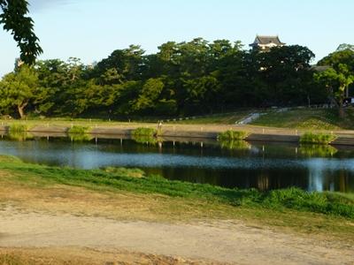 岡崎城_乙川