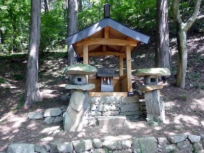 林城_大嵩崎山の神社