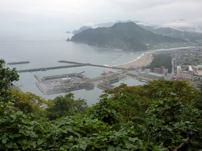 芦屋城_浜坂港