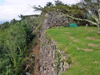 竹田城_三の丸高石垣