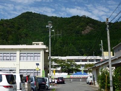 岩尾城_遠景