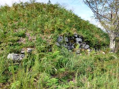 黒井城_二の丸下石垣